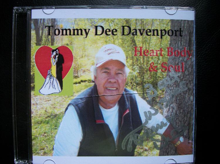Tommy Dee Davenport Autographed CD