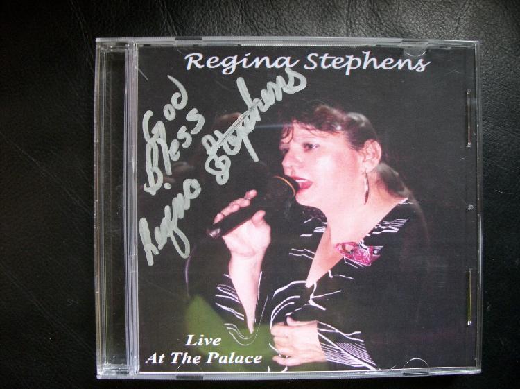 Regina Stephens Autographed CD