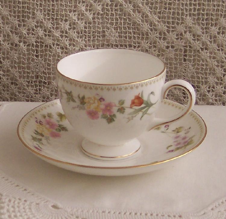 Wedgewood Tea Cup & Saucer Set