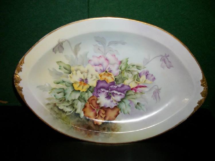 Edwin M Knowles China Co Platter