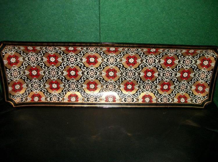 Smoked Glass Tray