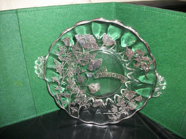 Vintage 1930's 25th Anniversary Platter