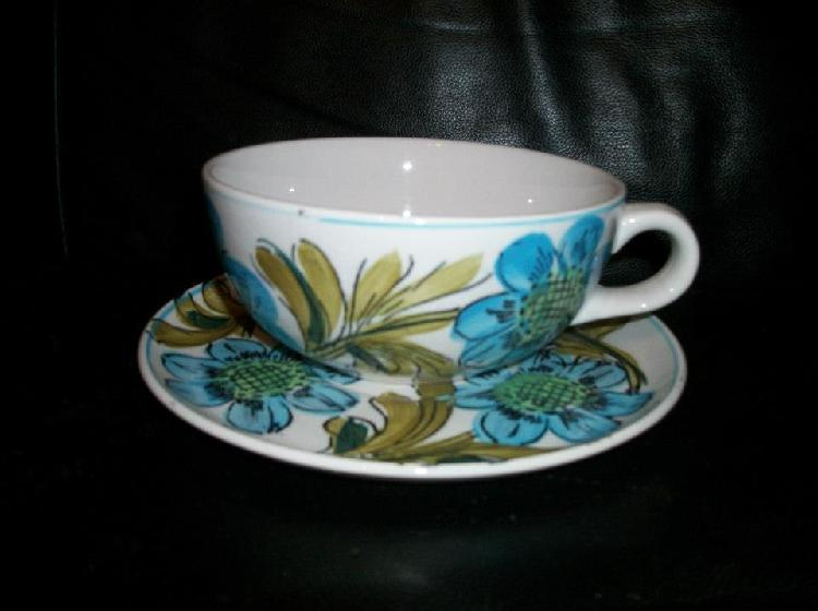 Ironstone Ware Cup & Saucer