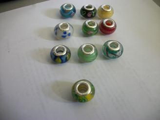 10 PC Murano Glass Beads