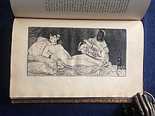 Edouard Manet. Ed Manet. With a wood engraving by Manet