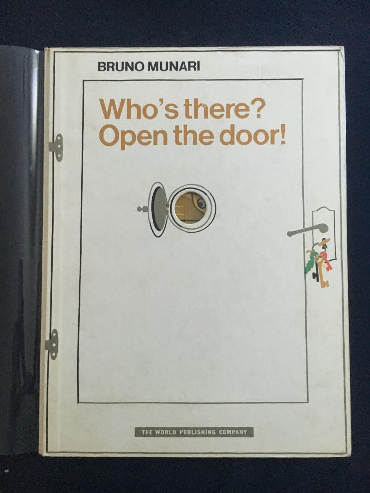 Bruno Munari. Who's There? Open the door!