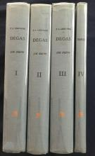 Degas et son oeuvre 4 volumes