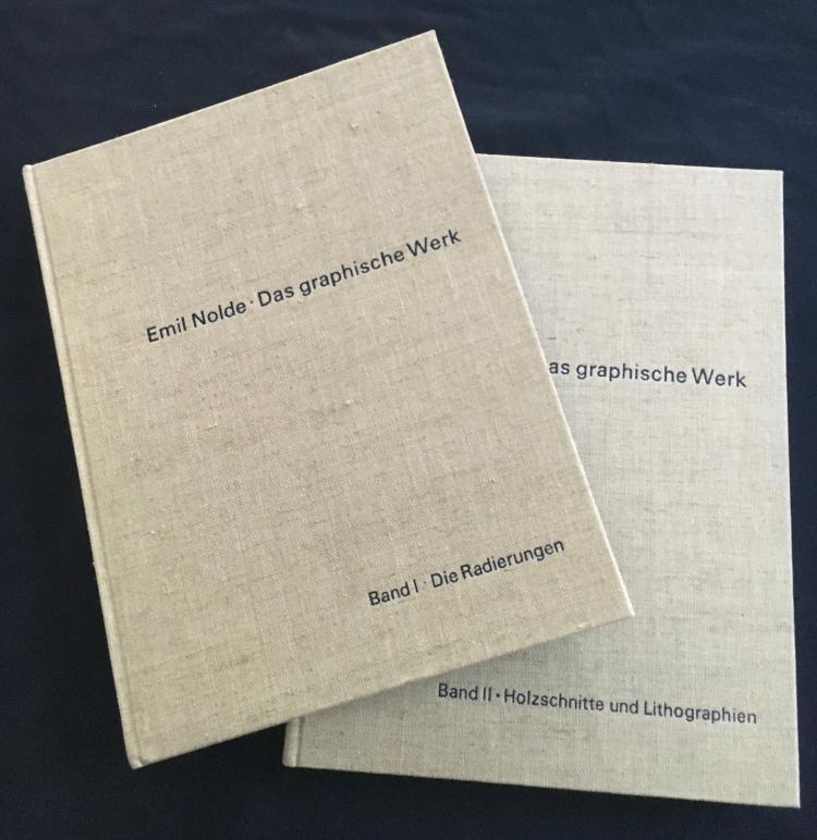 Emil NOLDE: Das Graphische Werk - 2 Volumes
