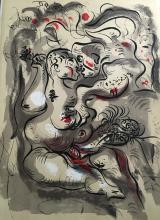 André Masson. Dessins Erotiques  - 20 lithographies originales d'André MASSON