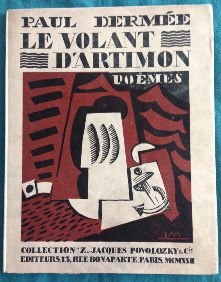 Paul Dermee. Le Volant d'Artimon with 3 woodcuts by Louis Marcoussis