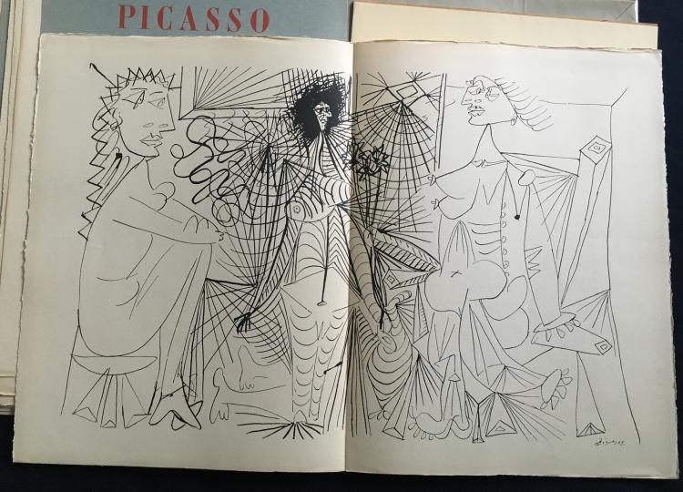 Revue Hommage1 + Hommage2. Dessins de Bonnard, Dufy, Maillol, Matisse, Picasso together with Hommage, 2: Dessins de Matisse