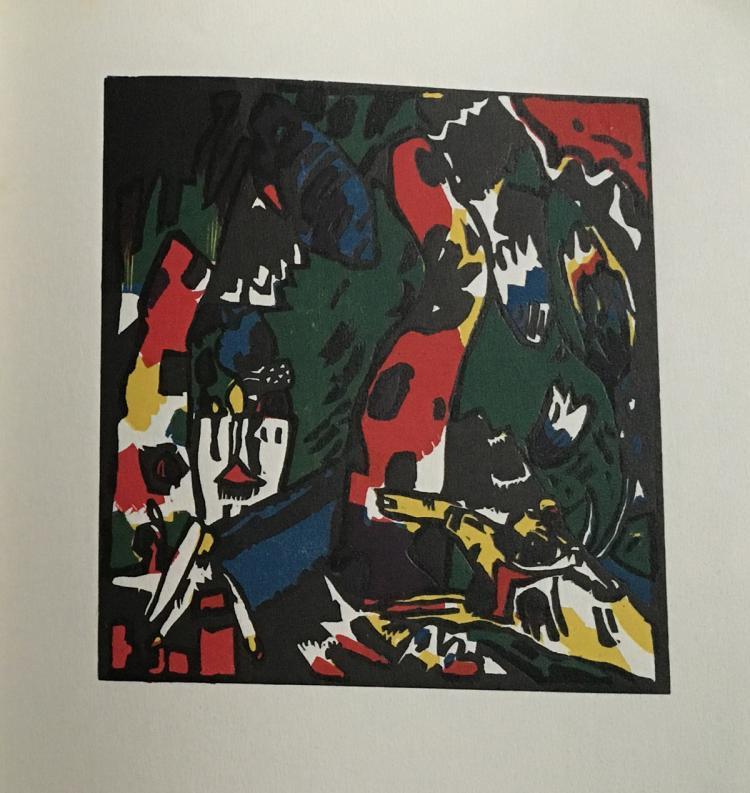 Revue Xxe Siecle N.3 Chroniques du Jour. Juillet-Aout-Septembre 1938. Wassily Kandinsky.