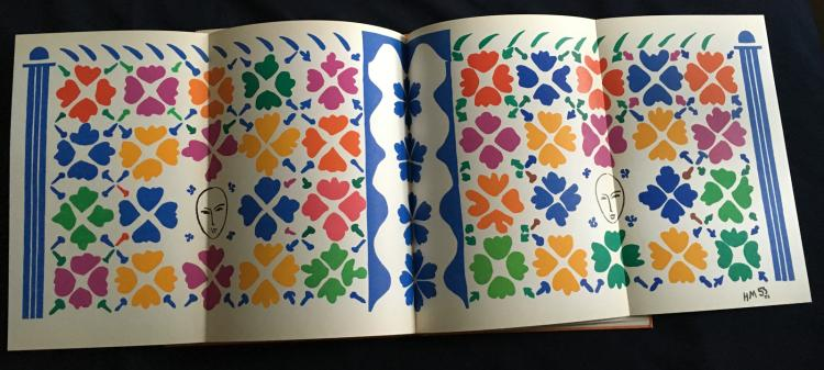 Revue Verve 35-36, with prints by Henri Matisse.