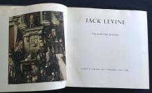 Jack Levine. Inscribed by the artist.