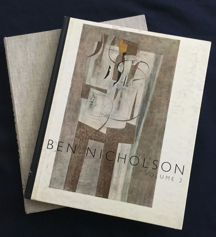 Ben NICHOLSON: Painting, Relief, Drawings - 2 Volumes