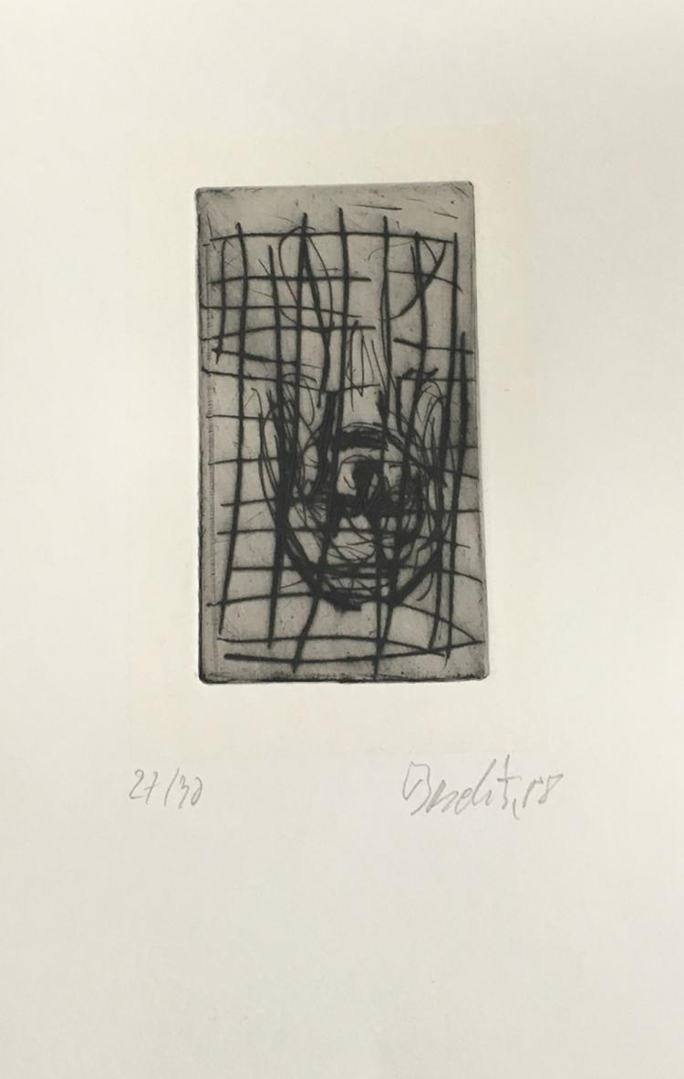 Georg Baselitz: Paintings / Bilder 1962-1988, with a signed etching