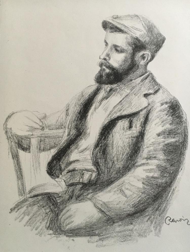 Pierre Auguste Renoir. Album des Douze Lithographies Originale.
