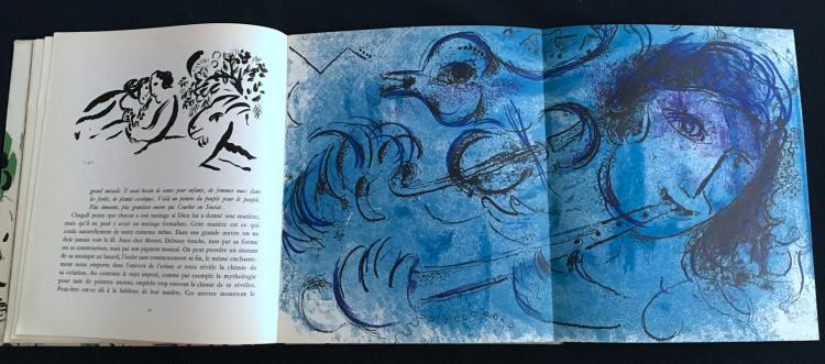 CHAGALL. JACQUES LASSAIGNE Paris, Maeght, 1957. Original first Edition, with 15 original lithographs