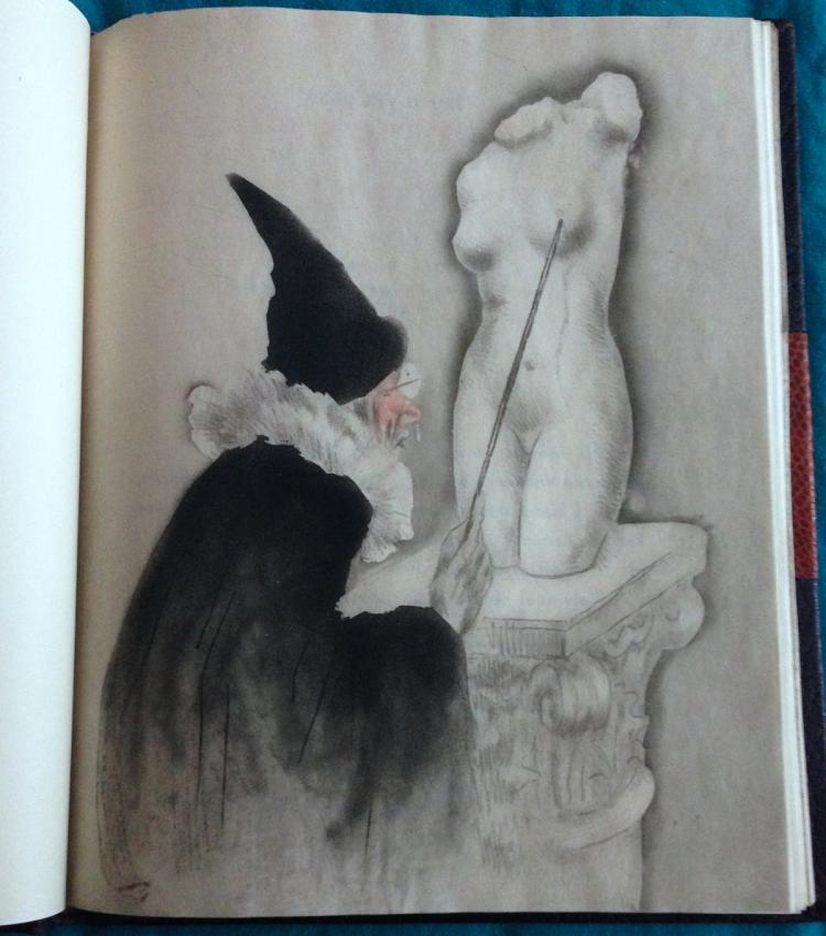 LA VIE DES SEINS - illustrated by Icart with 30 original etchings.