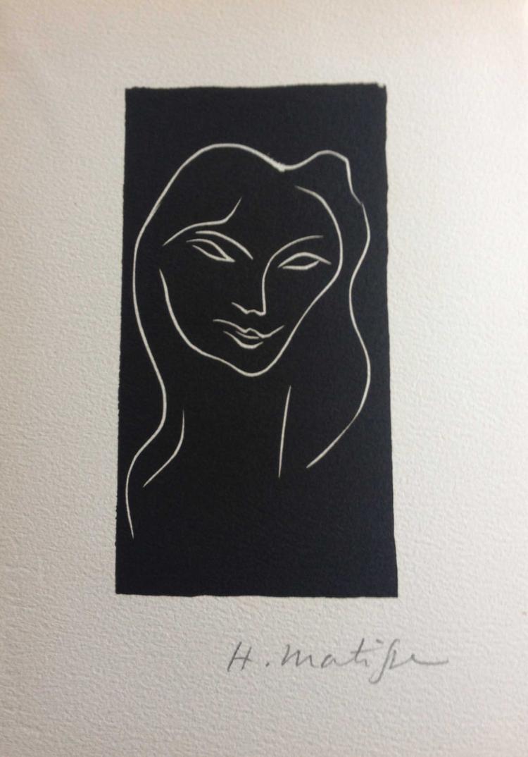 Le poème pulvérisé, with one signed linogravure by Henri Matisse.