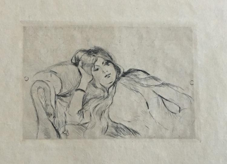 Poesie, with etchings by Berthe Morisot.