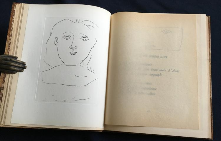 Jours de gloire. Histoire de la libération de Paris. With etchings by Picasso, Daragnes, Digimont, Touchagues.