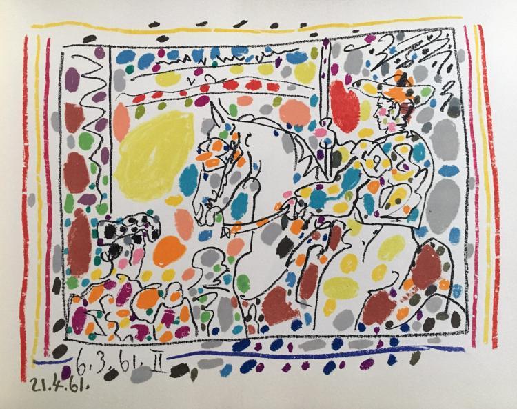 Picasso Toreros (A los Toros avec Picasso)