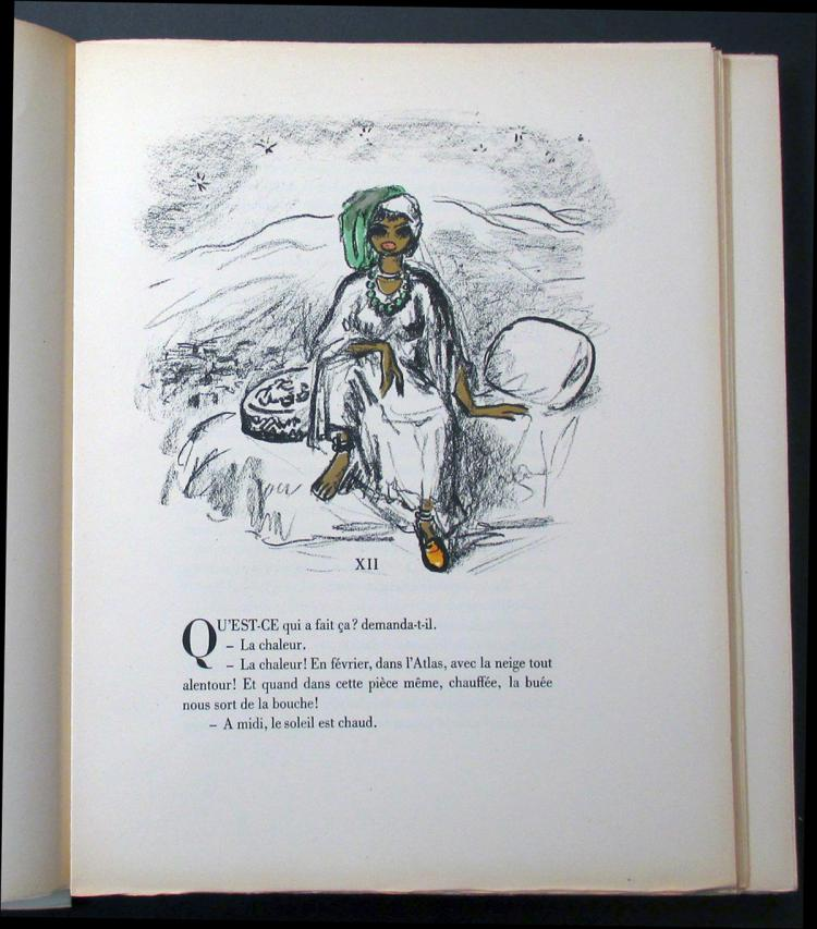 Les Lepreuses, with 26 original lithographs by Van Dongen.