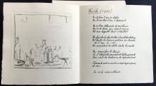 Un Poeme dans Chaque Livre, with original prints by Braque, Chagall, Ernst, Leger, Miro`, Picasso, Tanguy and others.