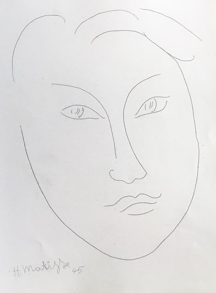 Alternance, with 16 etchings by Matisse, Laurencin, Cocteau, Lhote, Villon and others.
