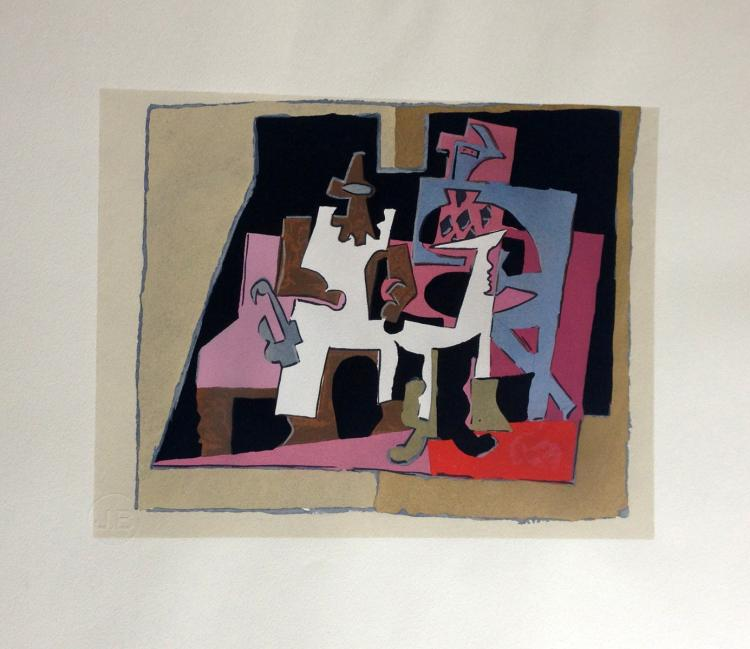 Dix Reproductions, with original pochoirs by Braque, Matisse, Picasso and others. 1933.