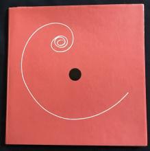 Bruno Munari. LIBRO ILLEGIBILE NY1 Together with AN UNREADABLE QUADRAT-PRINT.  Un libro illegibile quadrato. Une feuille-cadrat illisible.