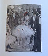 La Famille Cardinal, with 34 etchings by Degas. Binder signed by Jaco.