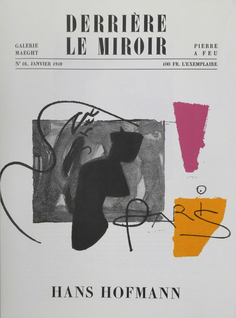 Derriere le miroir 16 original lithographs by hofmann for Miroir original
