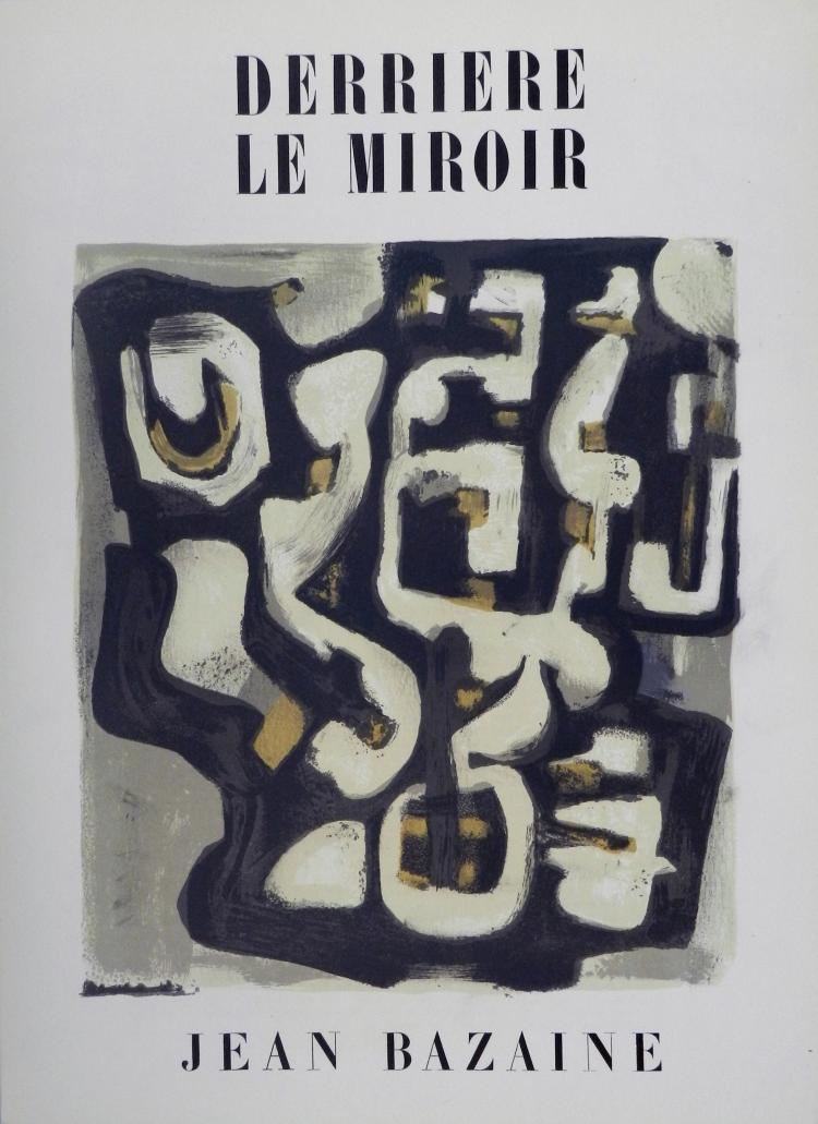 Derriere le miroir 23 original lithographs in color by baza for Miroir original