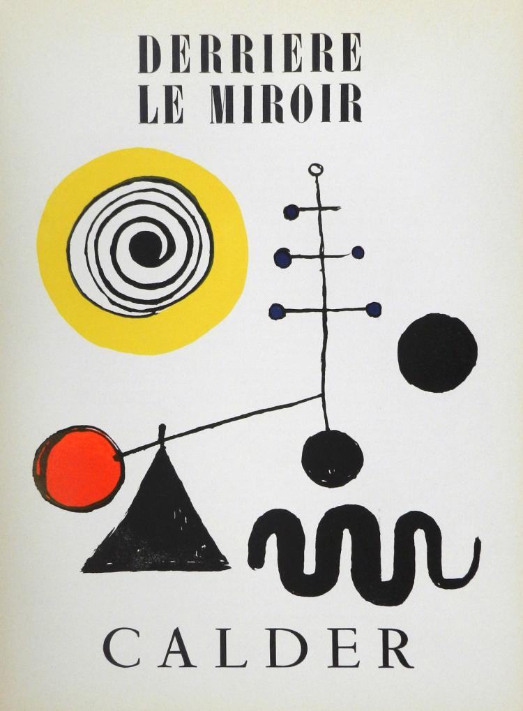 Derriere le miroir 31 2 original lithographs in color by ca for Derrier le miroir