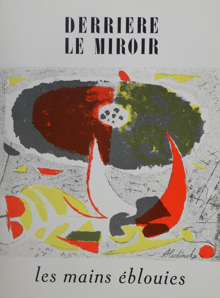 Derriere le miroir 32 original lithographs in color by alec for Miroir original