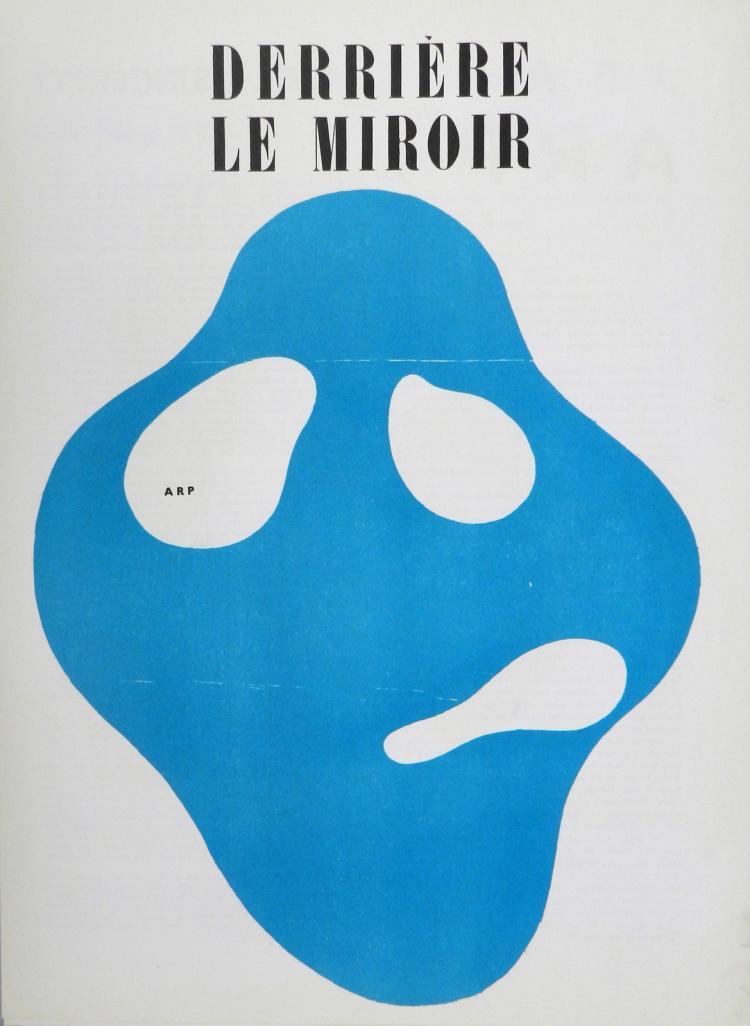 Derriere le Miroir 33. Original woodcuts in color by Arp