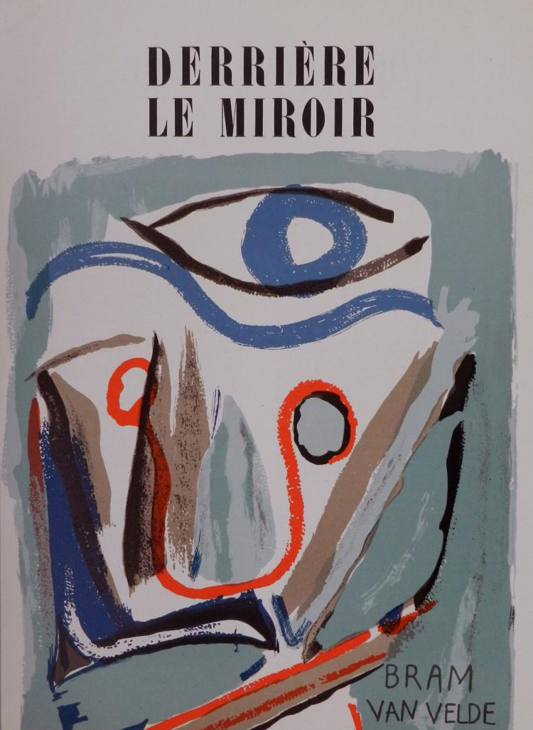 Derriere le miroir 43 original lithographs in color by bram for Miroir original