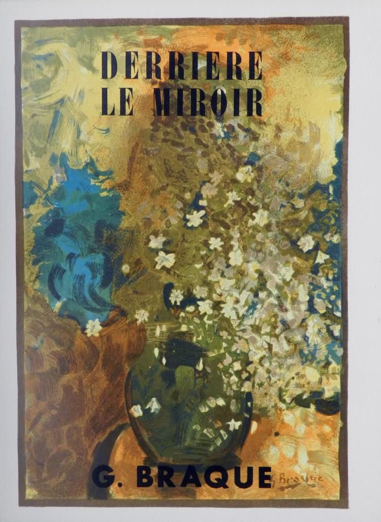 Derriere le Miroir 48-49. 6 lithographs in color by Braque.