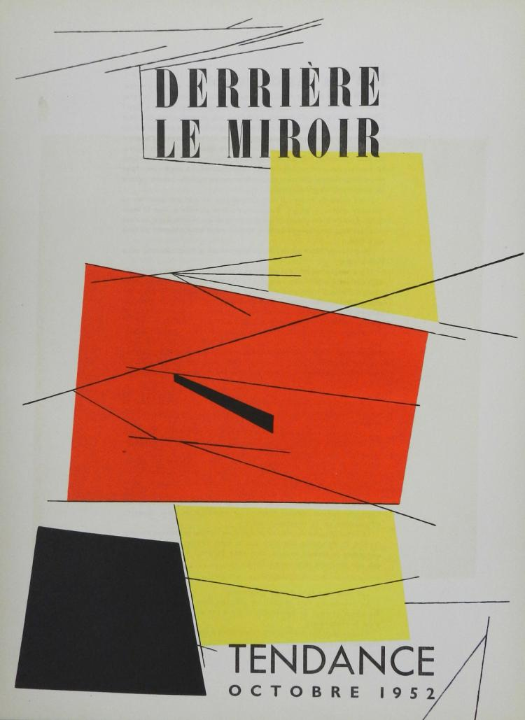 Derriere le miroir 50 original lithographs in color by pala for Derriere le miroir