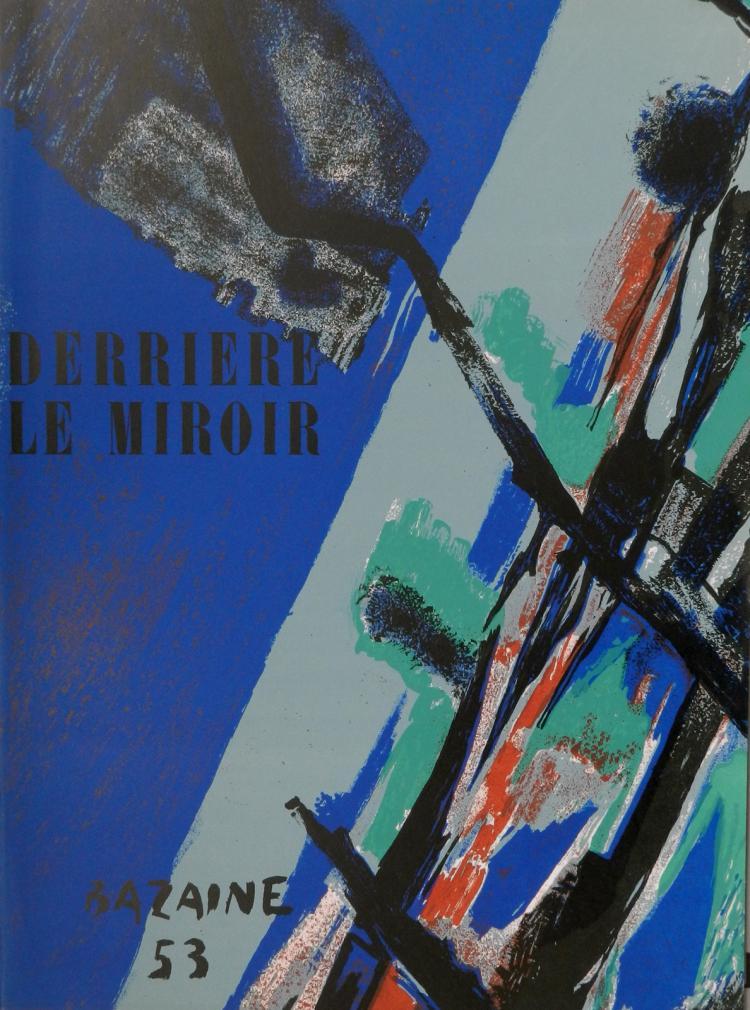 Derriere le miroir 55 56 original lithographs in color by b for Derrier le miroir