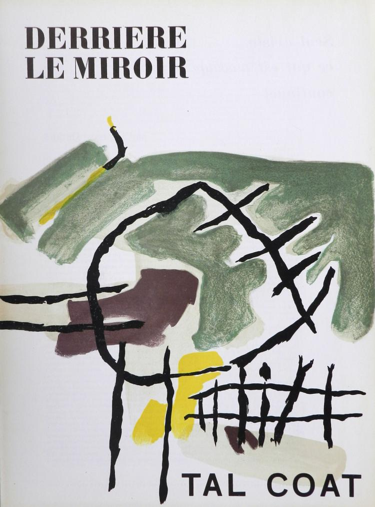 Derriere le miroir 82 83 84 lithographs in color by tal coa for Derriere le miroir