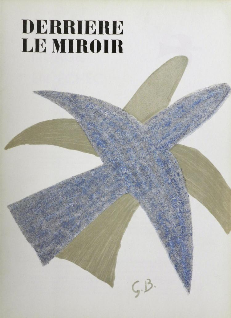 Derriere le Miroir 85-86. 4 lithographs in color by Braque
