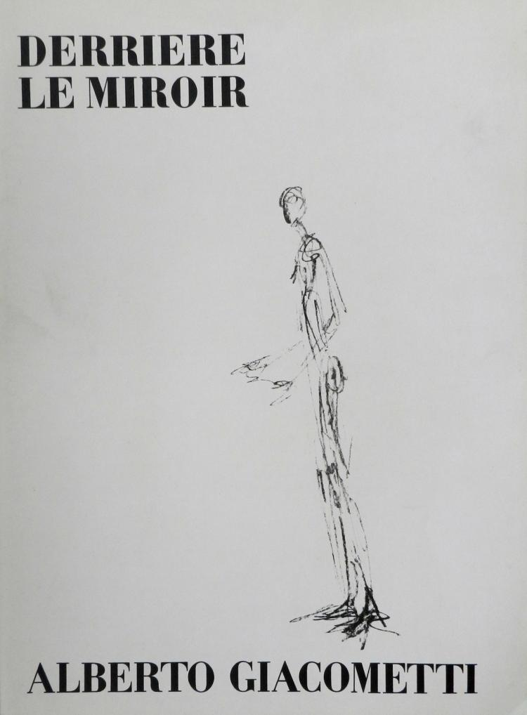 Derriere le miroir 98 3 original lithographs by giacometti for Derriere le miroir giacometti