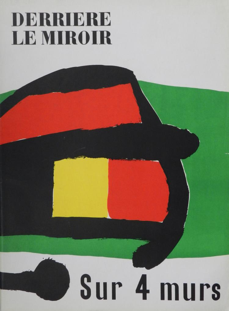 Derriere le miroir 107 108 109 original lithographs by miro for Derriere le miroir giacometti