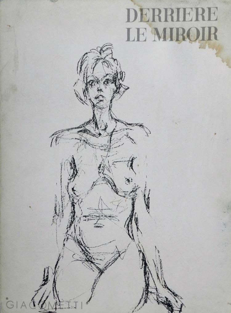 Derriere le Miroir 127. 14 original lithographs by Giacometti.