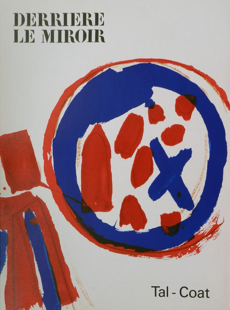 Derriere le miroir 131 original lithographs in color by tal for Miroir original