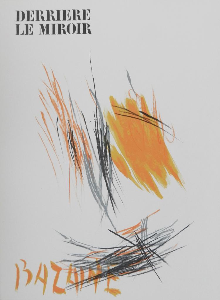 Derriere le Miroir 197. Original lithographs in color by Bazaine
