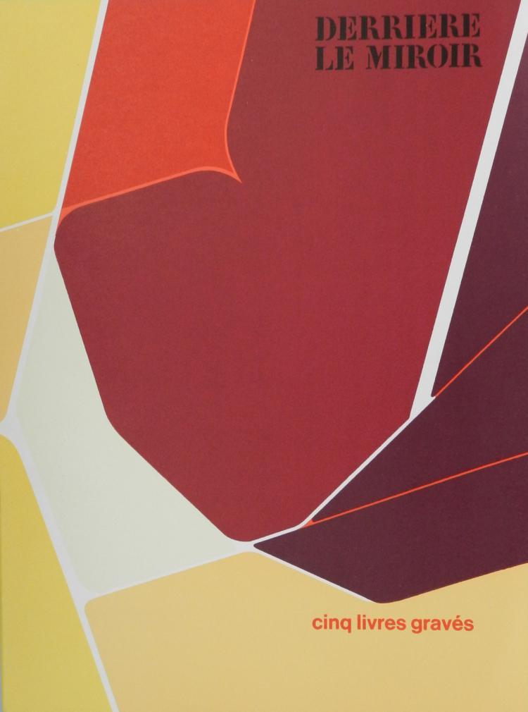 Derriere le Miroir 207. Original lithographs in color by Palzuelo